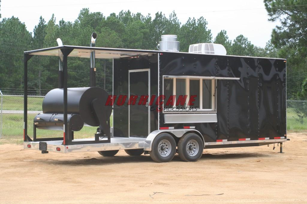 BBQ SMOKER TRAILERS | Hurricane Concessions