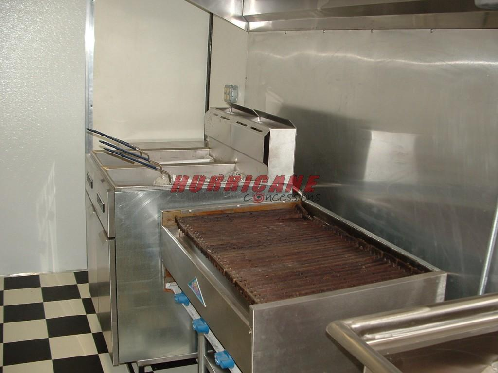 8 X 14 Mobile Kitchen Hurricane Concessions
