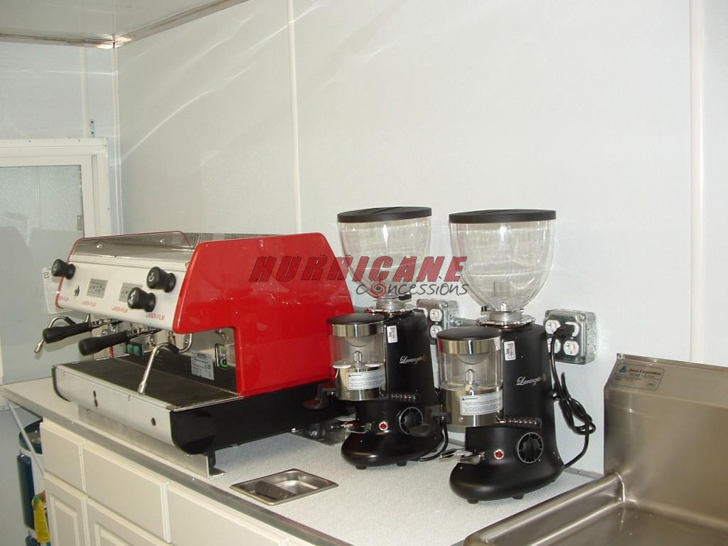 7x12 Espresso Unit Hurricane Concessions