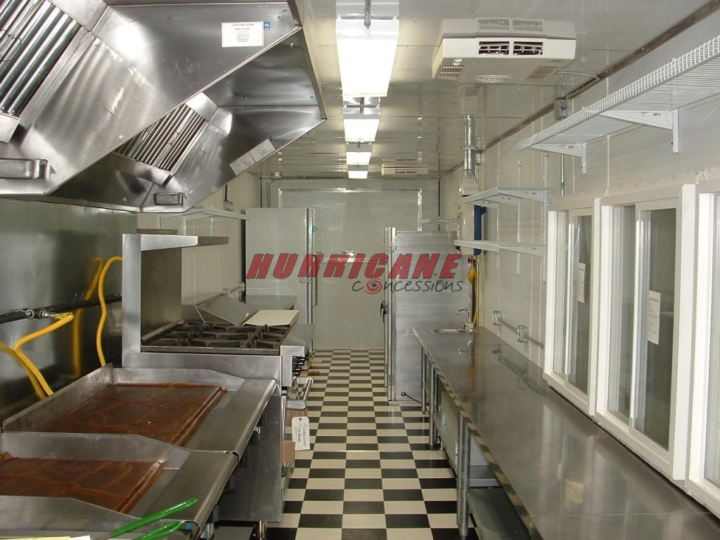 8 5 X 46 Mobile Kitchen Hurricane Concessions