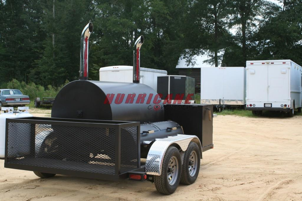 Bbq Smoker Trailers Hurricane Concessions